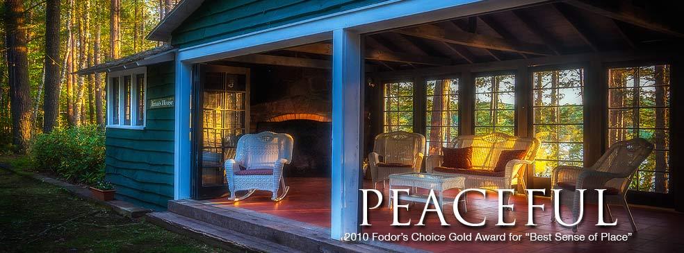 Adirondack Rustic Great Camps, Adirondack Vacation Rentals